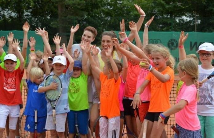 Andrea Petkovic realizó un torneo benéfico el pasado sábado contra el cáncer infantil