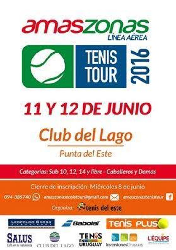 Llega la segunda etapa del Amaszonas Tenis Tour