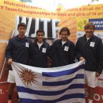 Uruguay vence a Francia en el Mundial