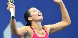 Anastasija Sevastova despidió sorpresivamente a Muguruza