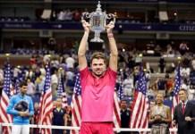 Wawrinka levanta el trofeo del tercer Grand Slam ganado en el año