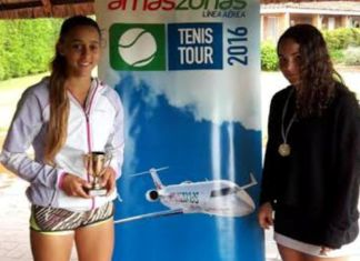 Finalistas de la quinta etapa del Amaszonas Tenis Tour