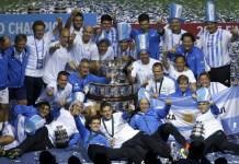 Argentina festeja su primer Copa Davis