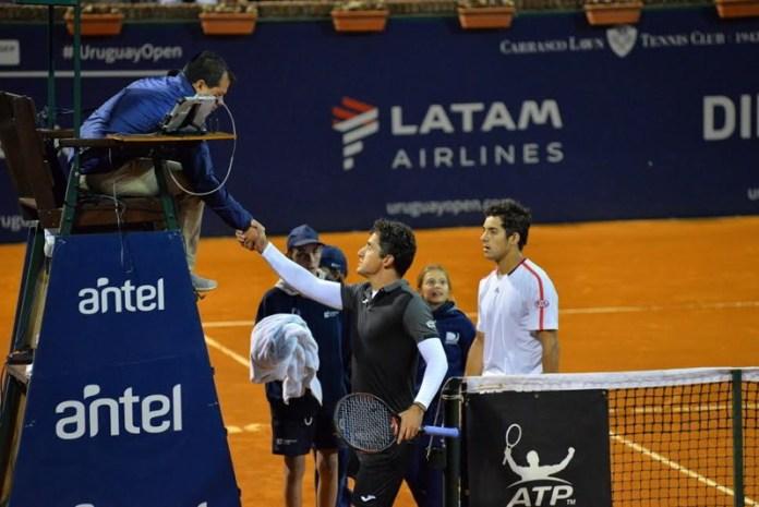 Garín eliminó al máximo favorito del uruguay open, Nicolás Almagro