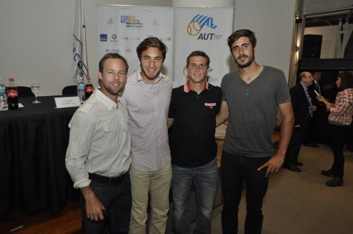 Marcel Felder Nicolas Xiviller Santiago Maresca y Rodrigo Arus