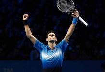 Novak Djokovic pasó sin problemas por el belga David Goffin
