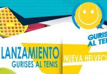 Lanzamiento Gurises al Tenis Nueva Helvecia