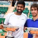 Rohan Bopanna y Pablo Cuevas campeones en Montecarlo