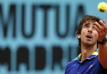 Pablo Cuevas en semifinales del Master 1000 de Madrid