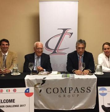 Conferencia de prensa Compass IC Junior Challenge
