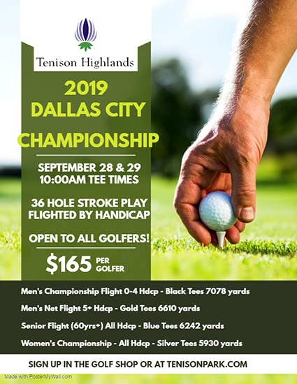 dallas golf tenison park