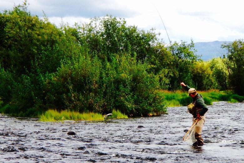 Tenkara Alaska Paul Vertrees - Fish On