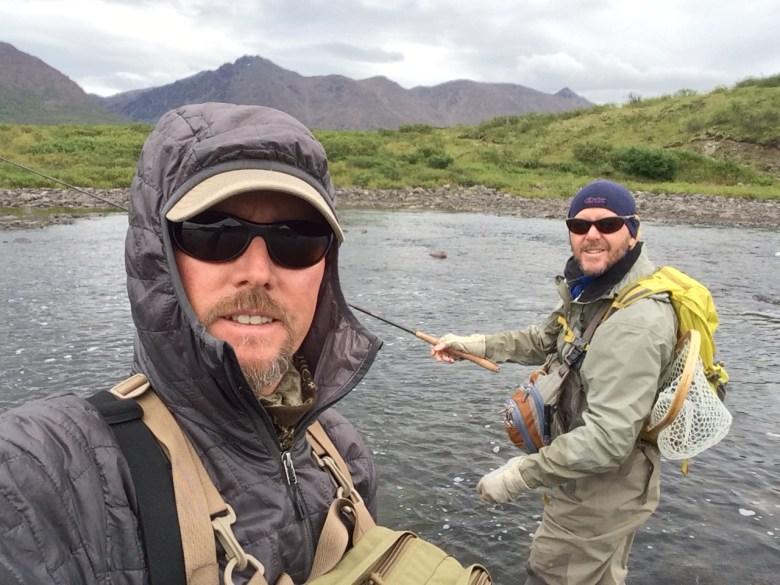 Tenkara Alaska Paul Vertrees - Selfie