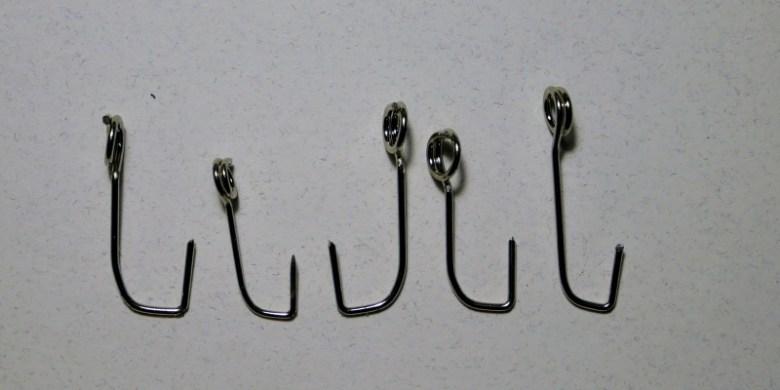 Jason Sparks - handmade safety pin fly tying hooks