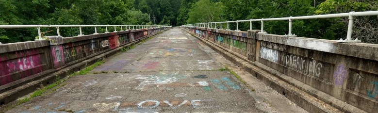 Haw River Trip Report - Graffiti Bridge