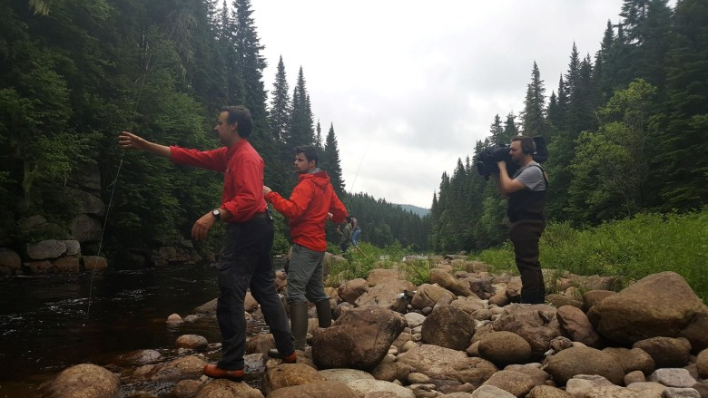 Forêt Montmorency Tenkara - Danièle Beaulieu - Student On Stream