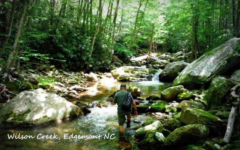 Jason Sparks - Too Tight for Tenkara - Wilson Creek