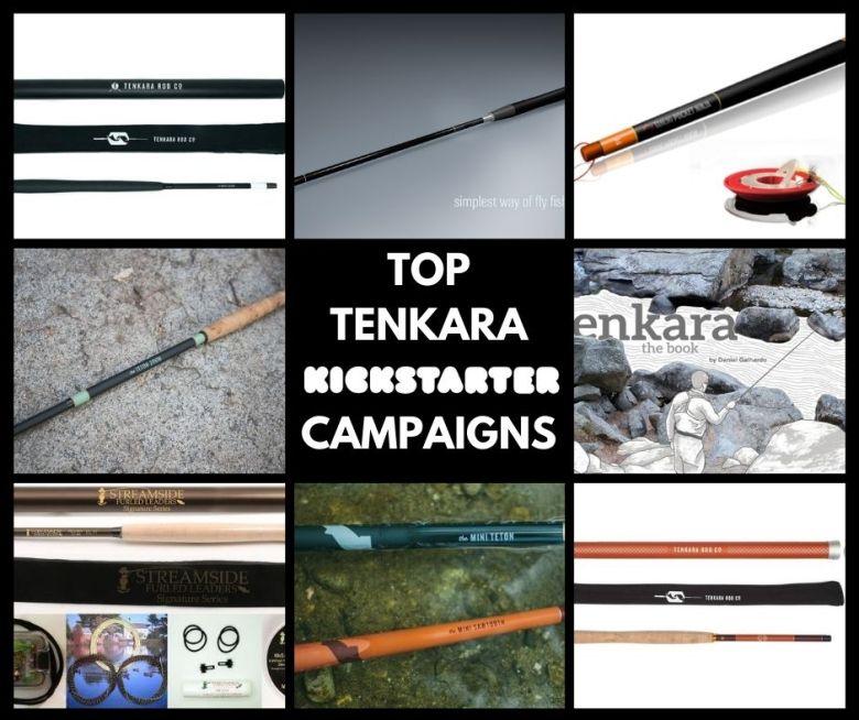 Ranking the Top Tenkara Kickstarter Campaigns