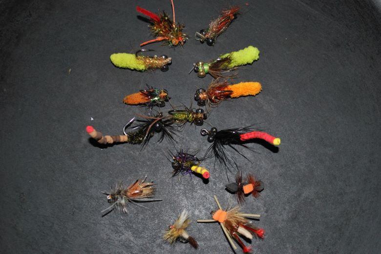Jon Hart - Tenkara Carp Fixed Line Fury - Flies