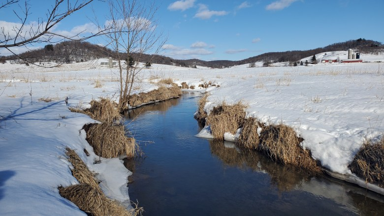 Matt Sment - Cold Comfort: A Winter Day of Fixed Line Nymphing - Driftless Stream Winter