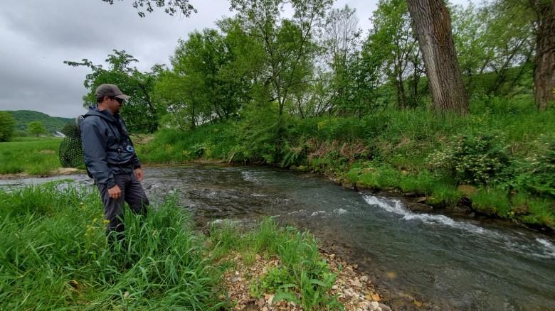 fixed line fly fishing driftless - tenkara angler - rob worthing