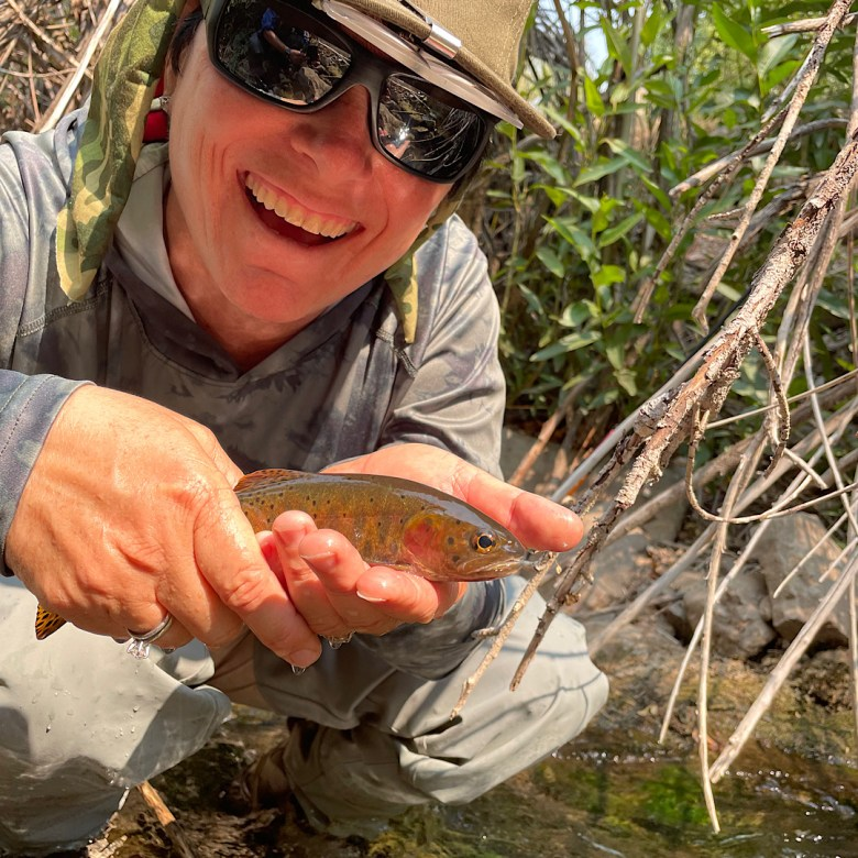 Three Close Quarters Tenkara Rods - Tenkara Angler - Ana Encenique - Fish
