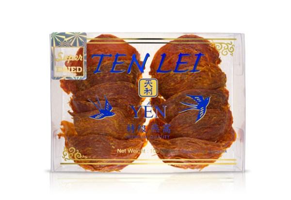 premium edible birds nest blue label 100 gram super red