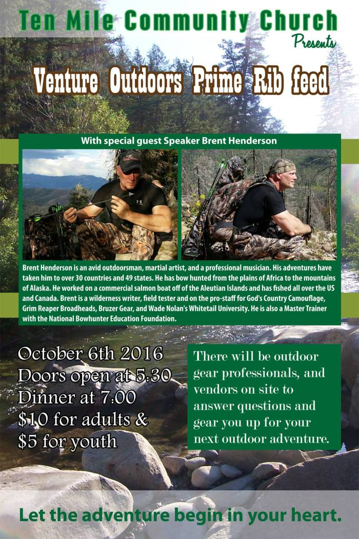 Venture Outdoors Poster