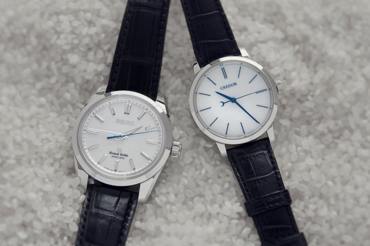 Grand Seiko and Credor - Image from Watchesbysjx