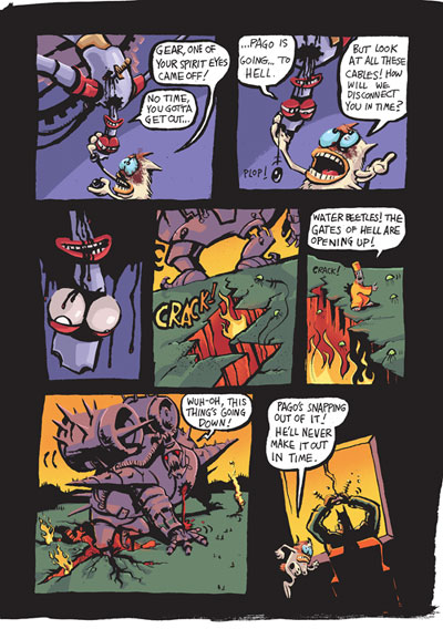 Comic books and Graphic Novels  Doug TenNapel