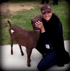 Harmony lane-Julie and goat