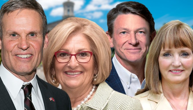 Bill Lee, Diane Black, Randy Boyd, Beth Harwell