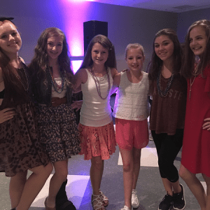 2016 Nationals - TTI athletes having fun at the Athletes' Party