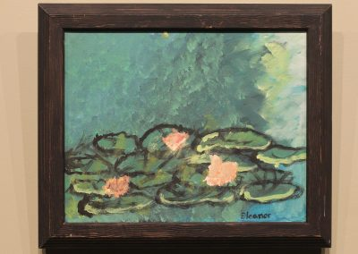 Monet Water Lilies by Eleanor Snyder