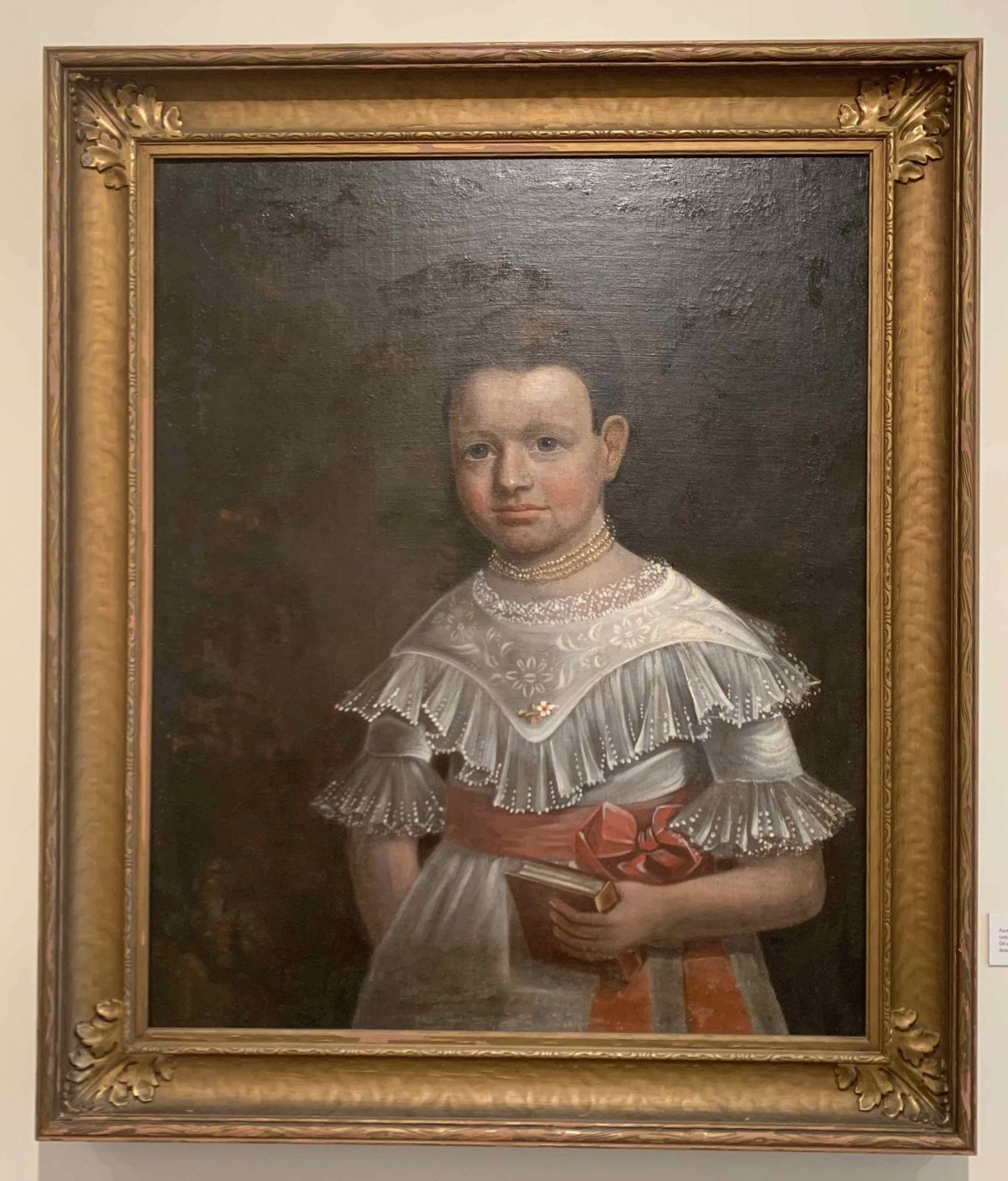 Portrait of a Girl (sitter unknown) c. 1850 Unknown