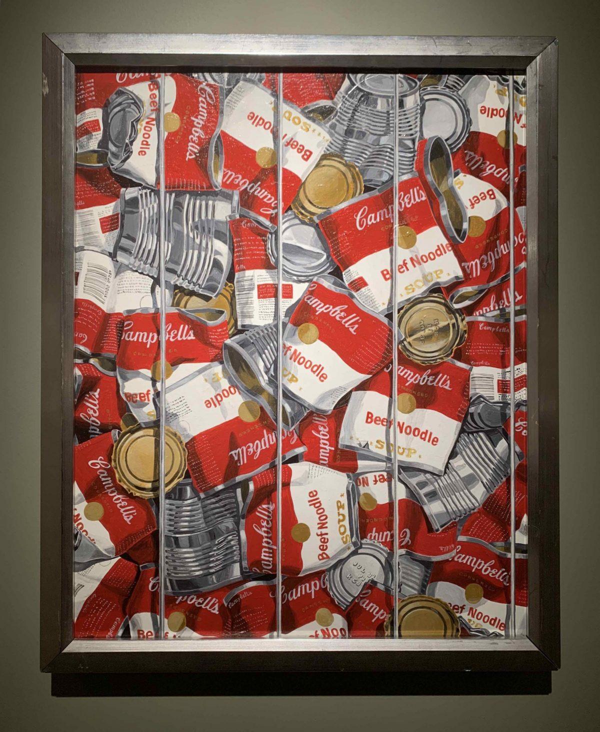 Warhol Recycled (c. 1992) Kathryn Boyd Rice