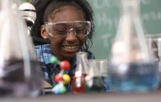 A Twice-Exceptional Student in chemistry class.