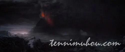 モルドールの滅びの山