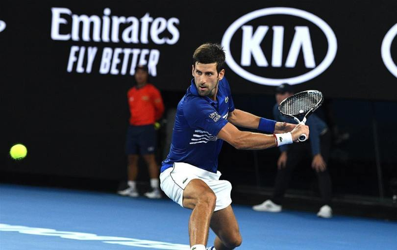 Novak Djokovic into the Q-Finals