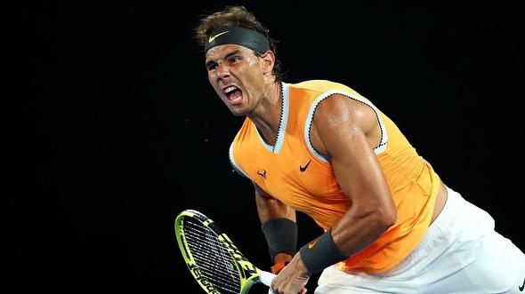 Rafael Nadal into The Final again