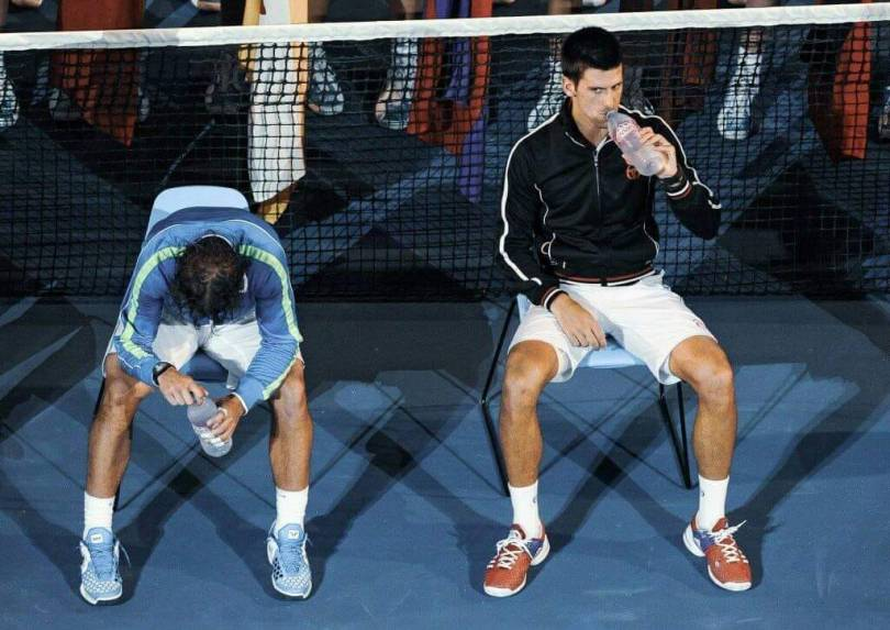 History Repeats itself as Novak Djokovic faces Rafael Nadal in the big Final