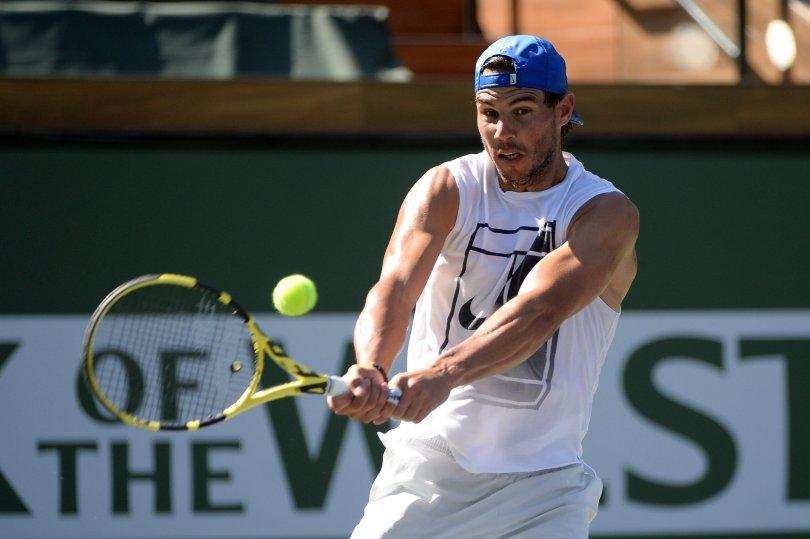 Watch Rafal Nadal Indian Wells 2019 - Practice
