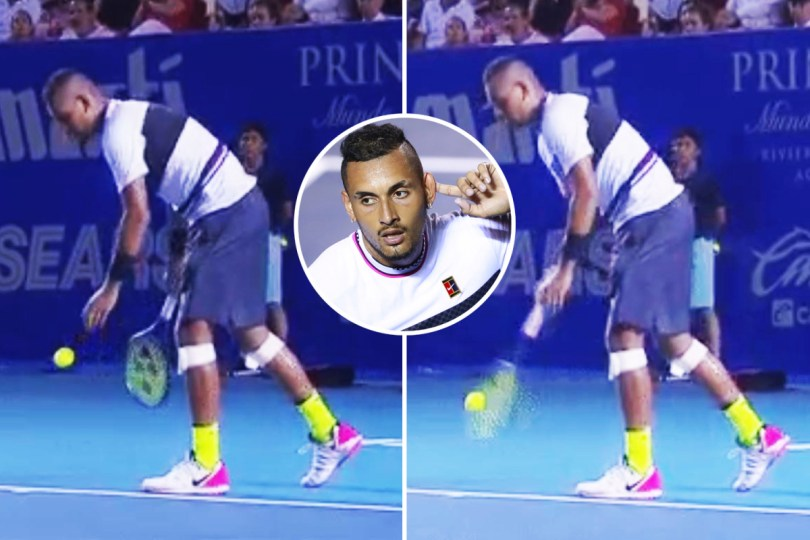 Andy Murray's Mother is impressed with Kyrgios Arm Serve