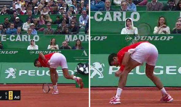 "Mark Petchey ""Djokovic breaks the racket with Passion"""