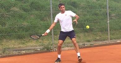 This is what Paganini said about Federer's Fitness for Clay