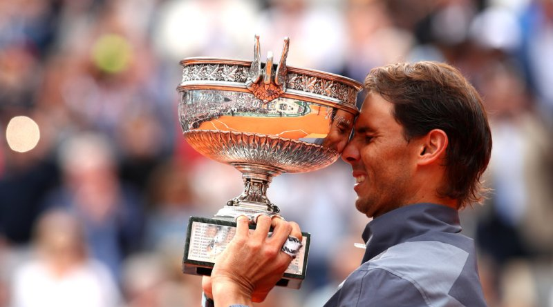 This is what Rafael Nadal said about chasing Federer's Slam record