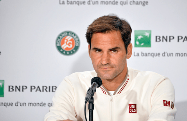 This is how Roger Federer shut down a reporter for a tricky question