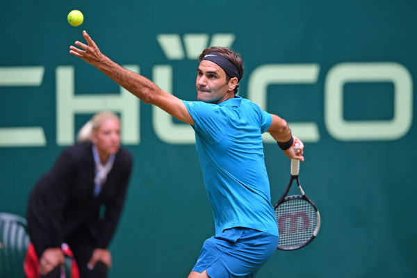 Roger Federer Halle 2019 - Draw