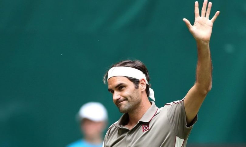"Roger Federer ""I feel great to be back to the grass"""