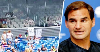 Roger Federer responds with 'Get lost' to Critics